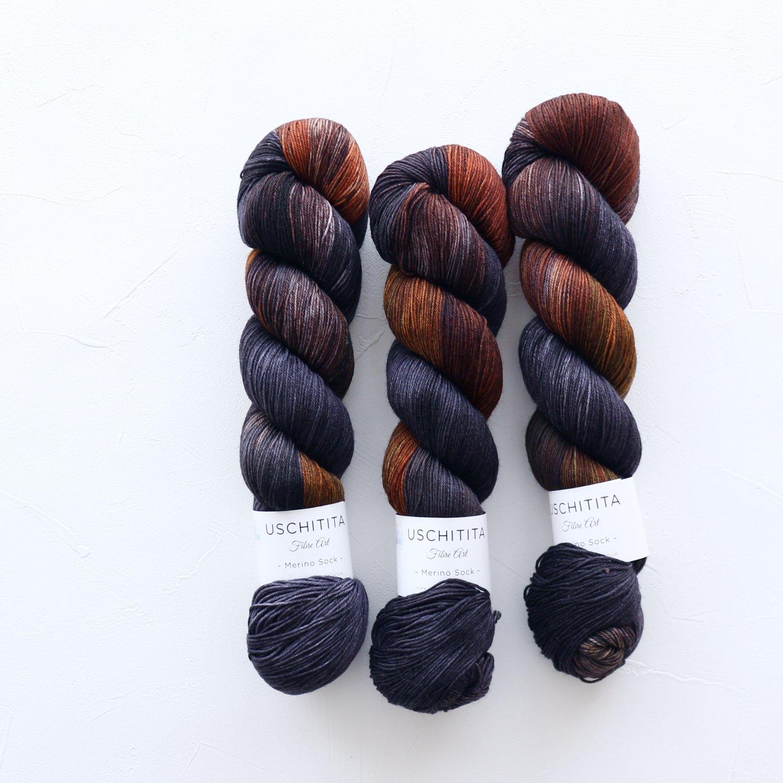 【uschitita】<br>Merino Sock<br>Aura