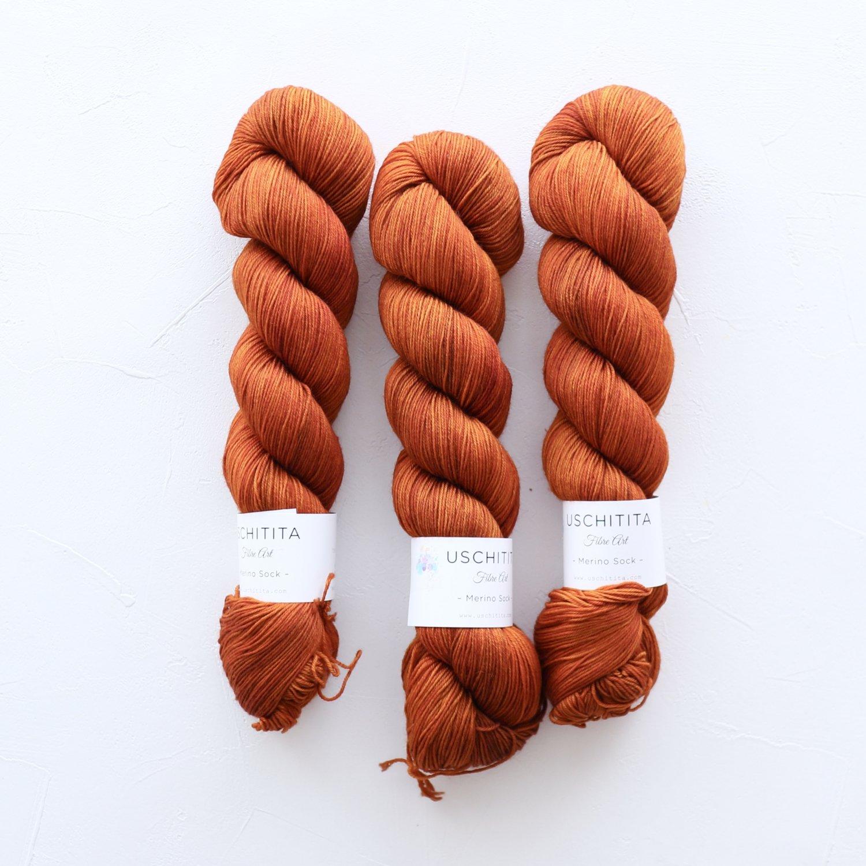 【uschitita】<br>Merino Sock<br>Madras