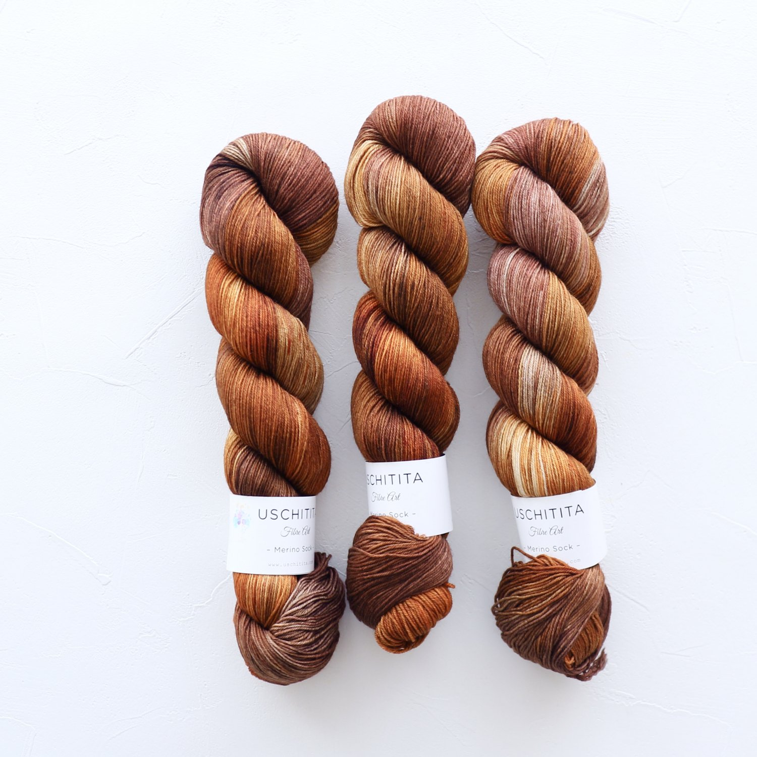 【uschitita】<br>Merino Sock<br>Squirrel Kids