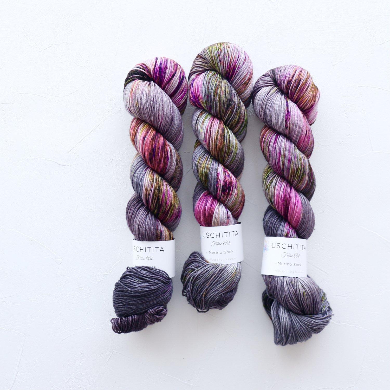 【uschitita】<br>Merino Sock<br>Studio
