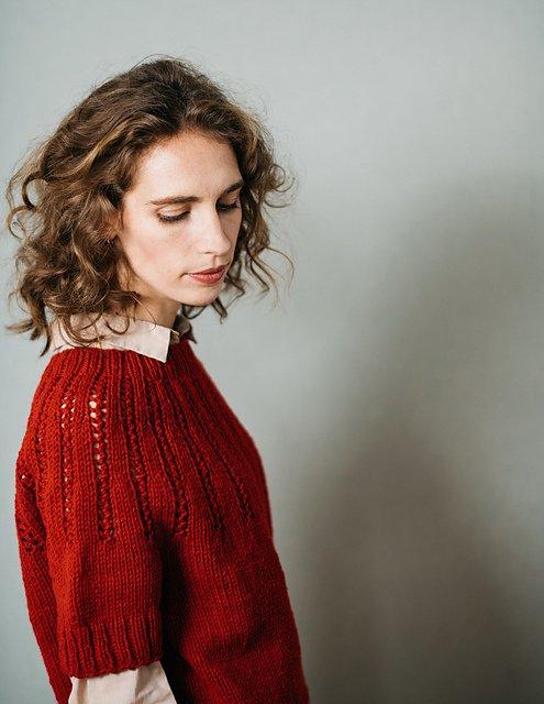 【PDF】 Muscari Sweater by Midori Hirose