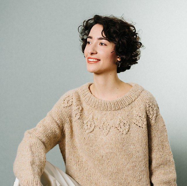 【PDF】 Macrame Motif Sweater by Midori Hirose