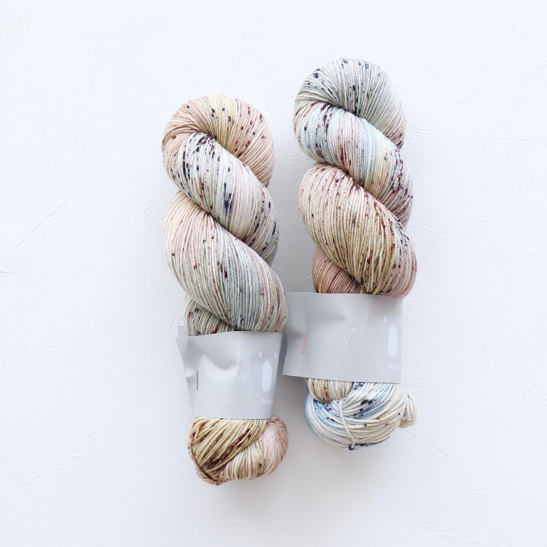 【Qing Fibre】<br>Merino Fingering<br>Fossil
