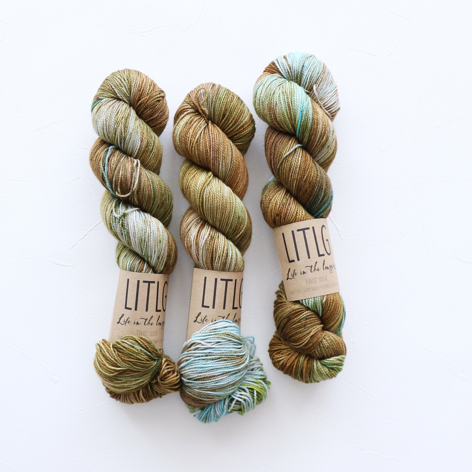 【LIFE IN THE LONGGRASS】<br>Twist Sock<br>Firefly