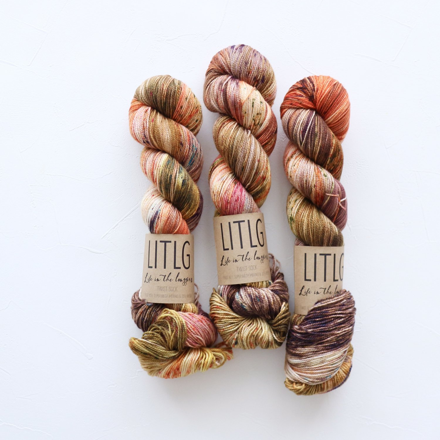 【LIFE IN THE LONGGRASS】<br>Twist Sock<br>Lughnasa