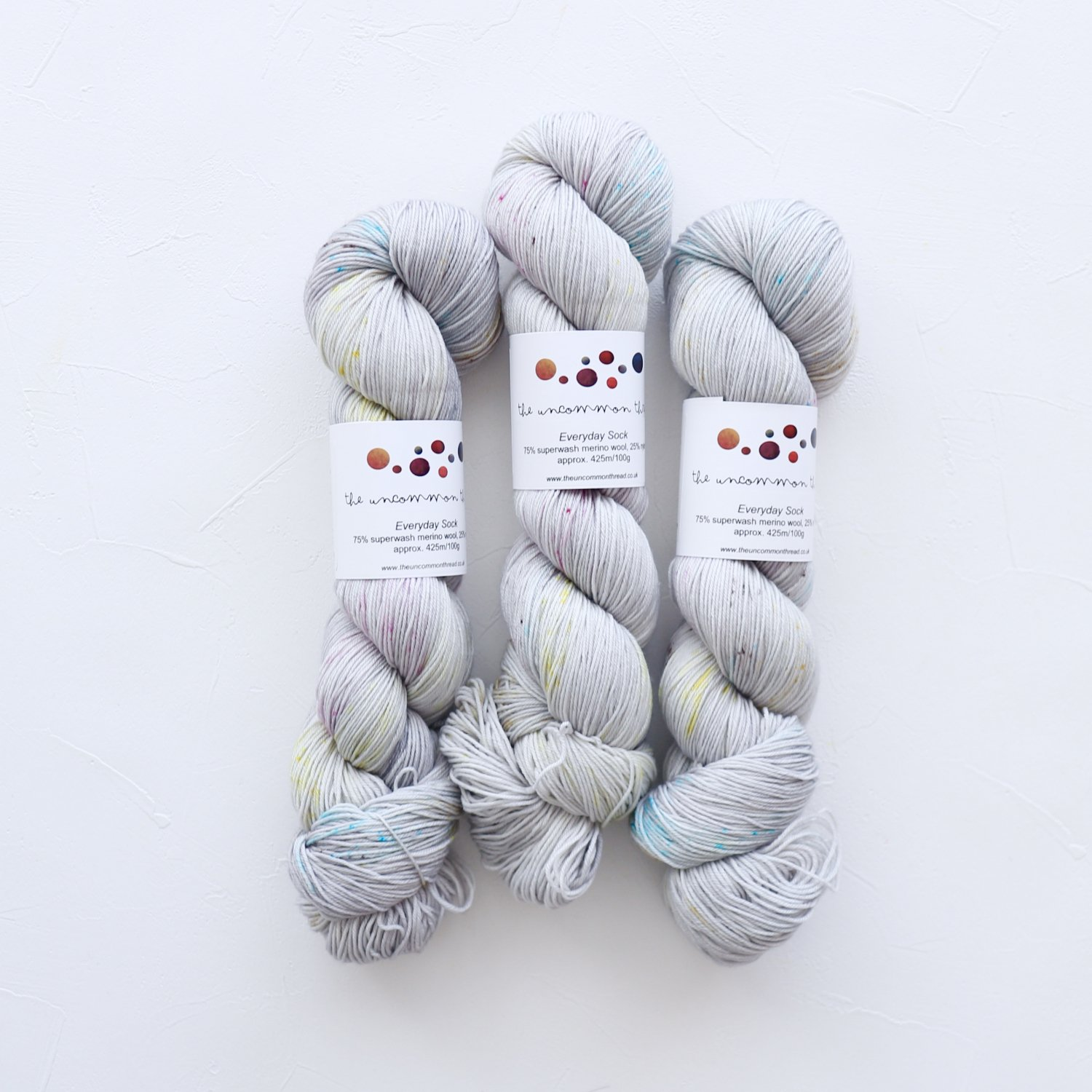 【The Uncommon Thread】<br>Everyday Sock<br>Confetti
