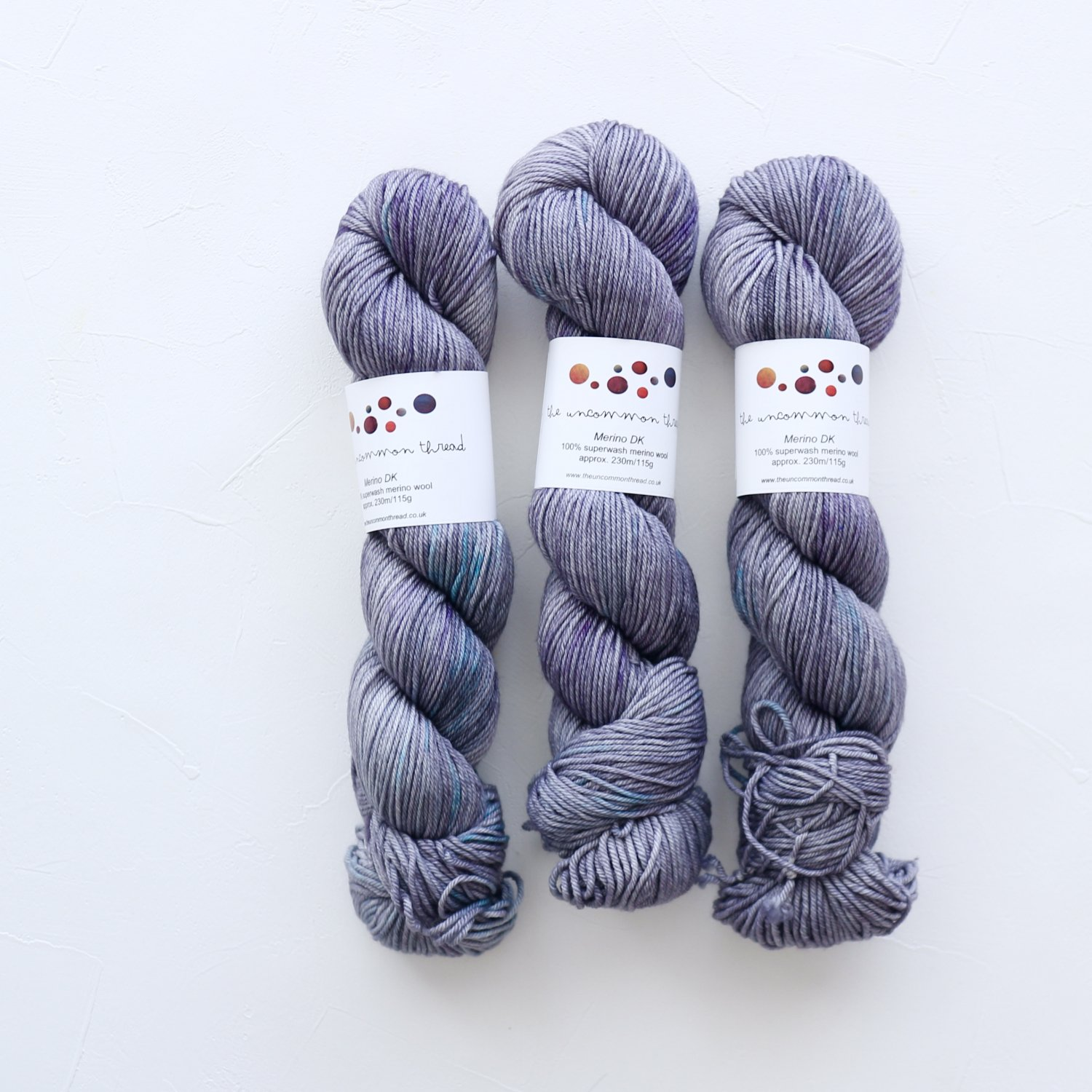 【The Uncommon Thread】<br>Merino DK<br>London Mist