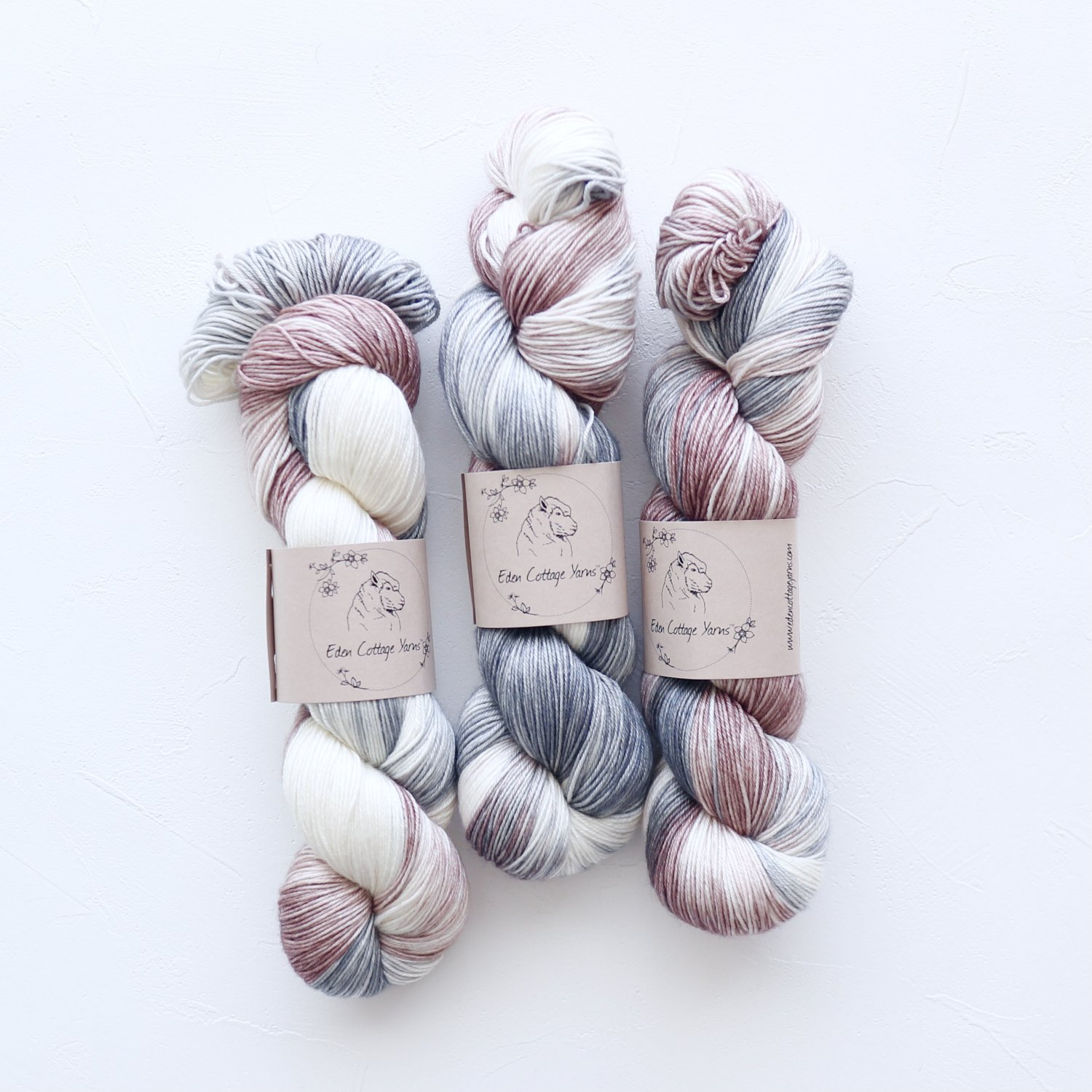 【Eden Cottage Yarns】<br>Titus 4ply<br>Rock Pools