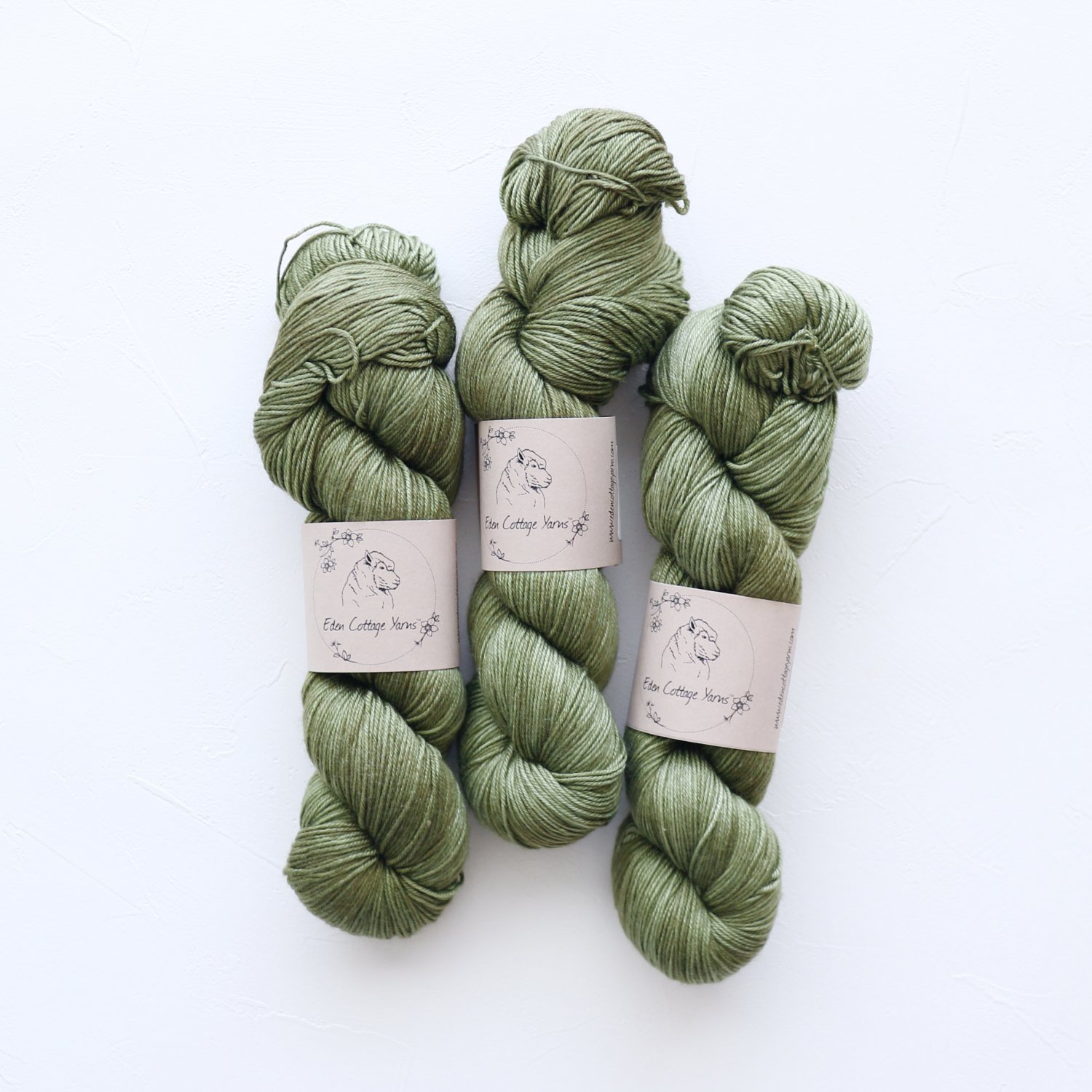 【Eden Cottage Yarns】<br>Titus 4ply<br>Woodland