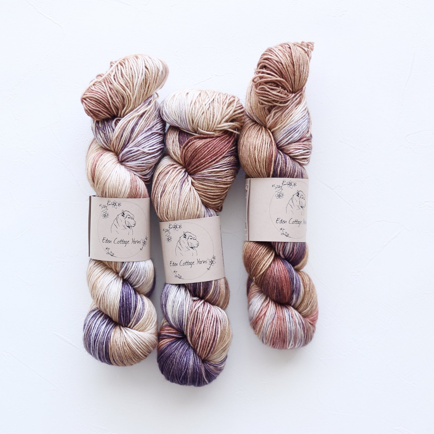 【Eden Cottage Yarns】<br>Titus 4ply<br>Woodpile