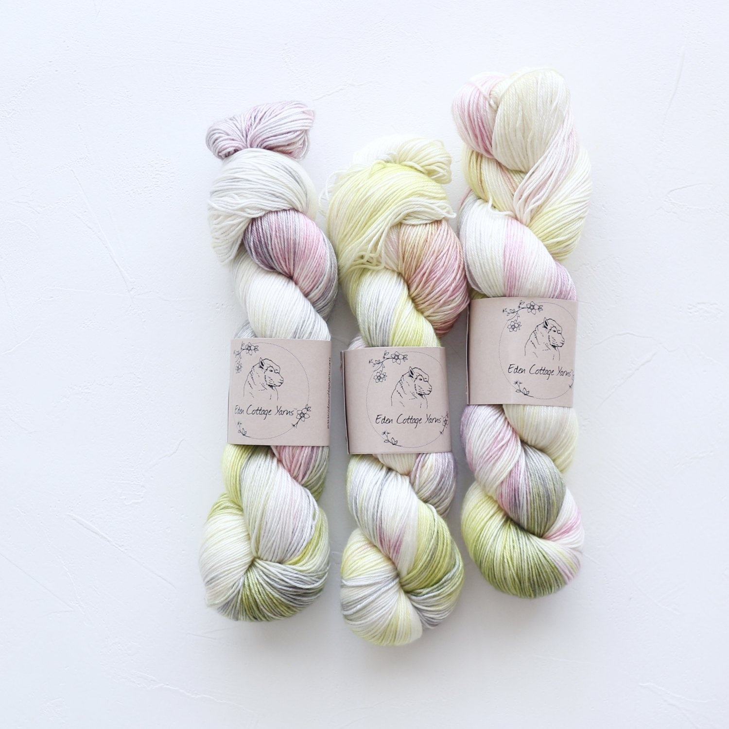 【Eden Cottage Yarns】<br>Titus 4ply<br>Cosmos Flowerbed
