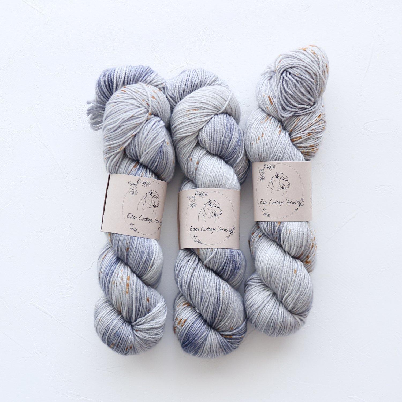 【Eden Cottage Yarns】<br>Pendle 4ply<br>Old Jeans