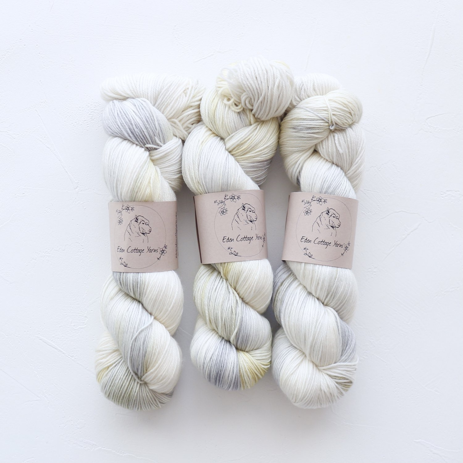 【Eden Cottage Yarns】<br>Pendle 4ply<br>Goldfinch