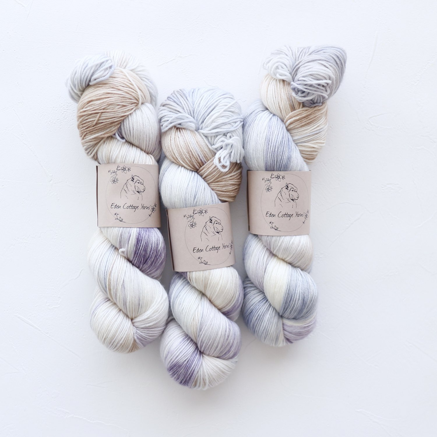 【Eden Cottage Yarns】<br>Pendle 4ply<br>Coast