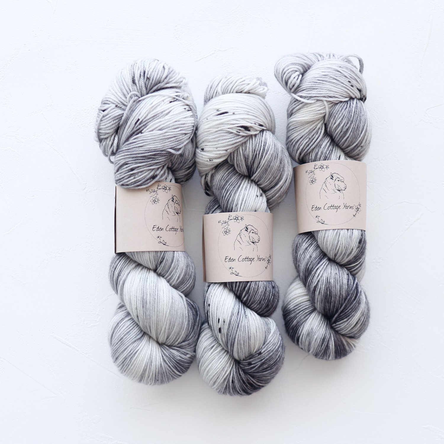 【Eden Cottage Yarns】<br>Pendle 4ply<br>Dry Stone Wall