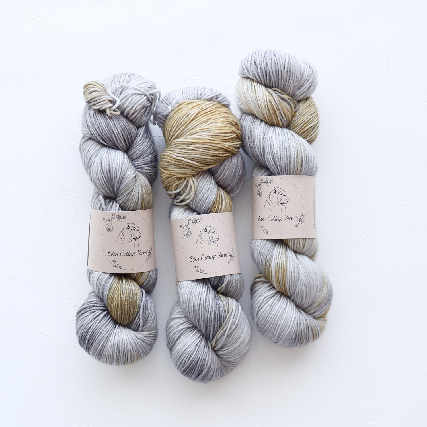 【Eden Cottage Yarns】<br>Pendle 4ply<br>Barn Owl(A)