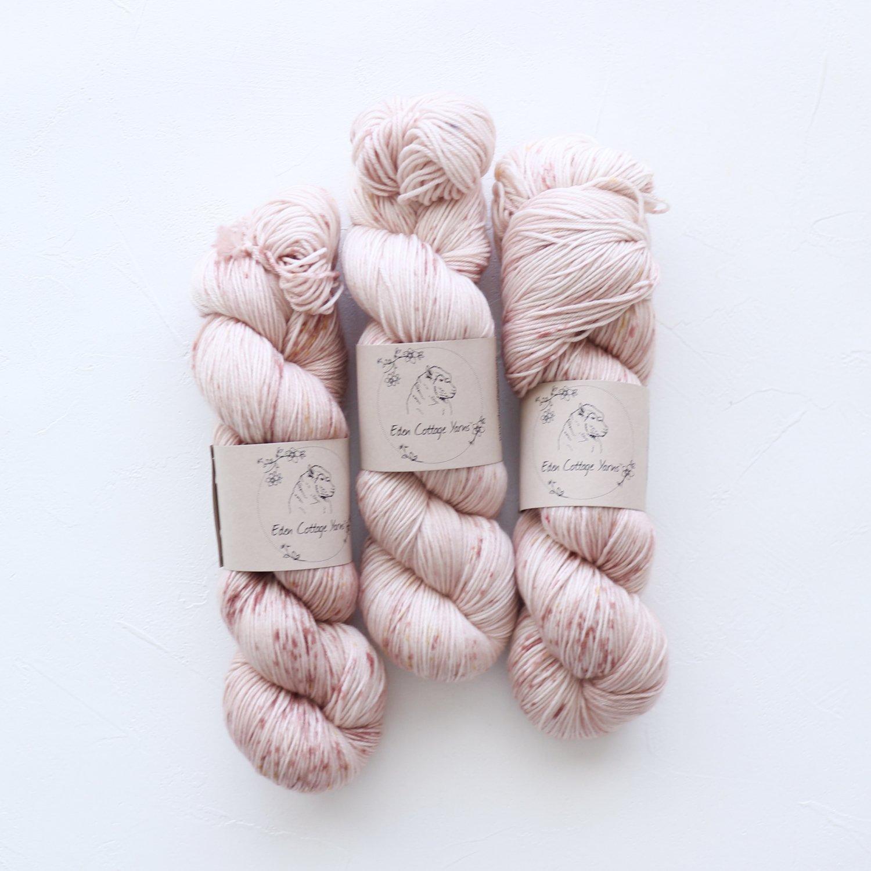 【Eden Cottage Yarns】<br>Pendle 4ply<br>Rose Bed
