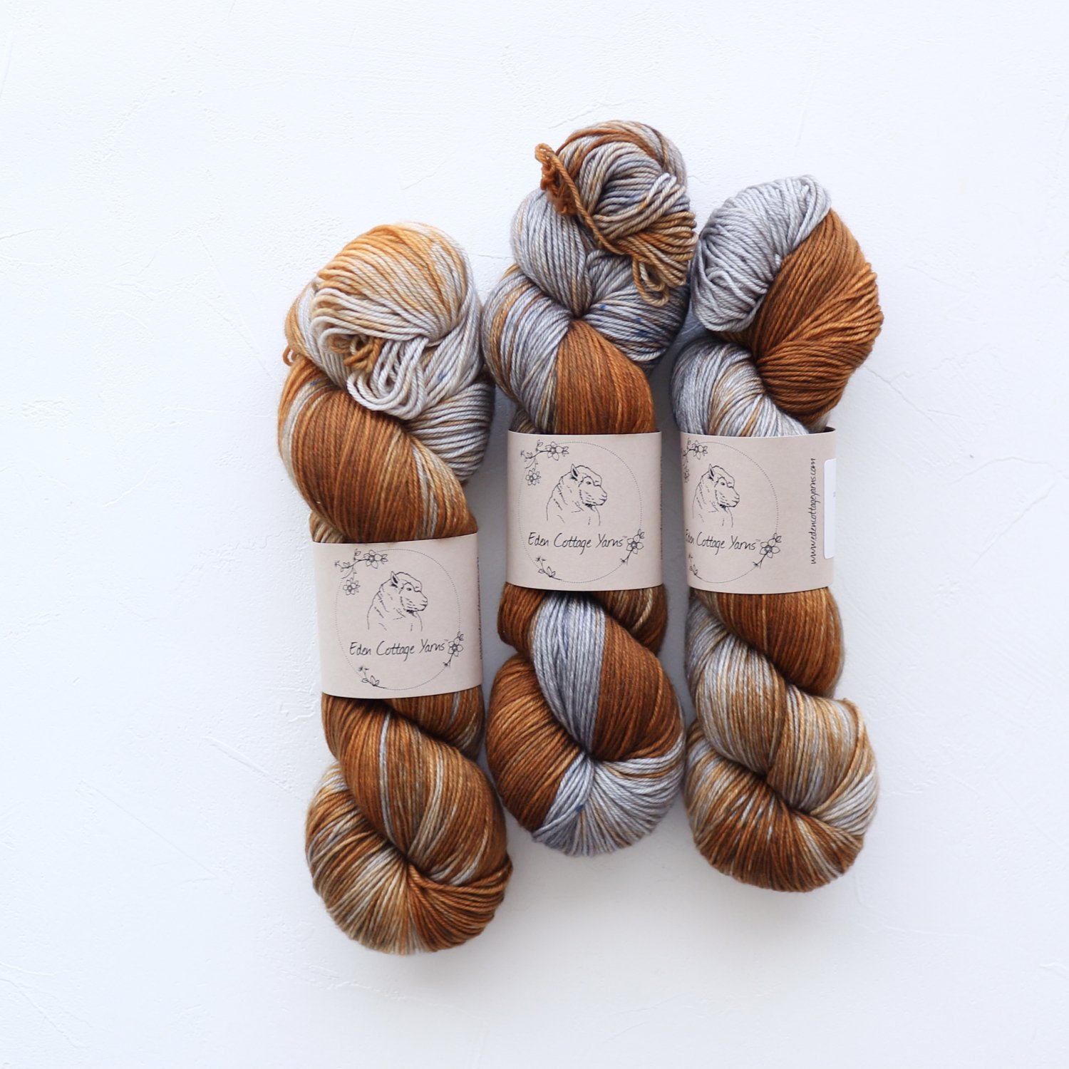 【Eden Cottage Yarns】<br>Pendle 4ply<br>Rusted Watering Can