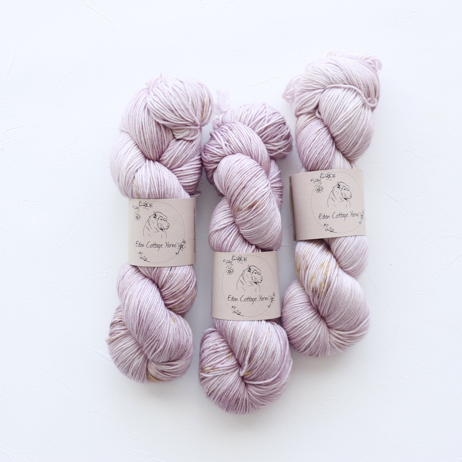 【Eden Cottage Yarns】<br>Pendle 4ply<br>Autumn Hydrangea