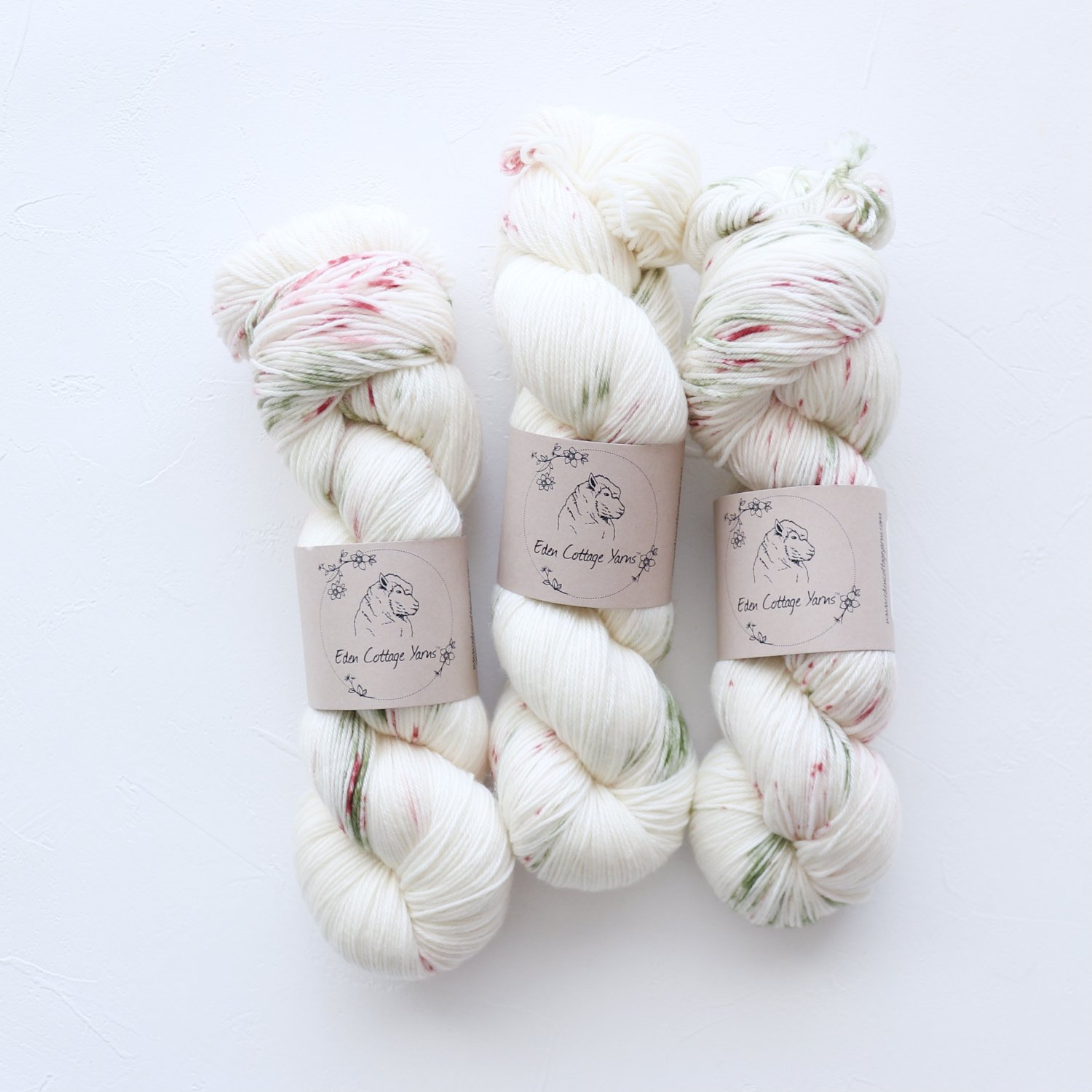 【Eden Cottage Yarns】<br>Pendle 4ply<br>Festive Fun