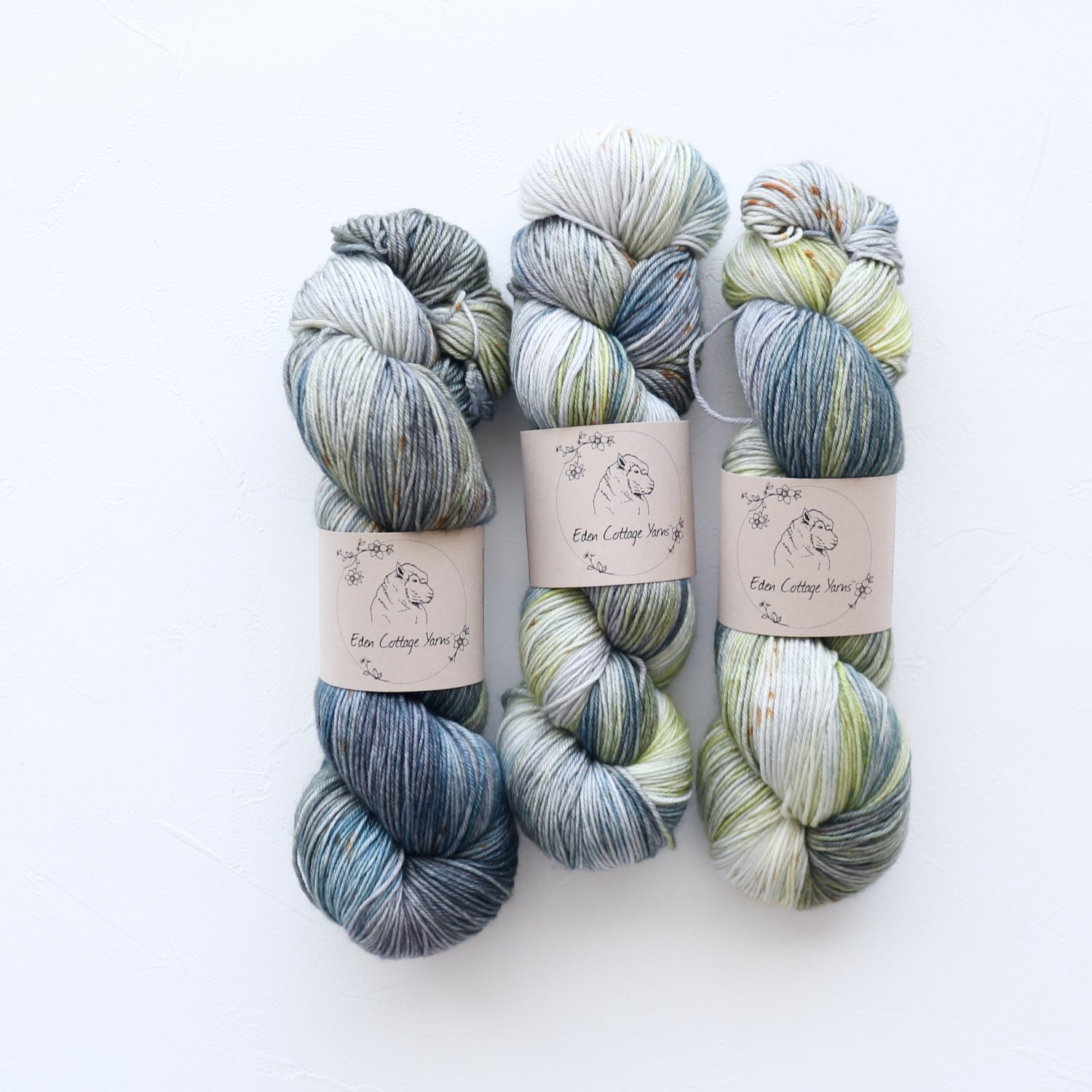 【Eden Cottage Yarns】<br>Pendle 4ply<br>Thicket