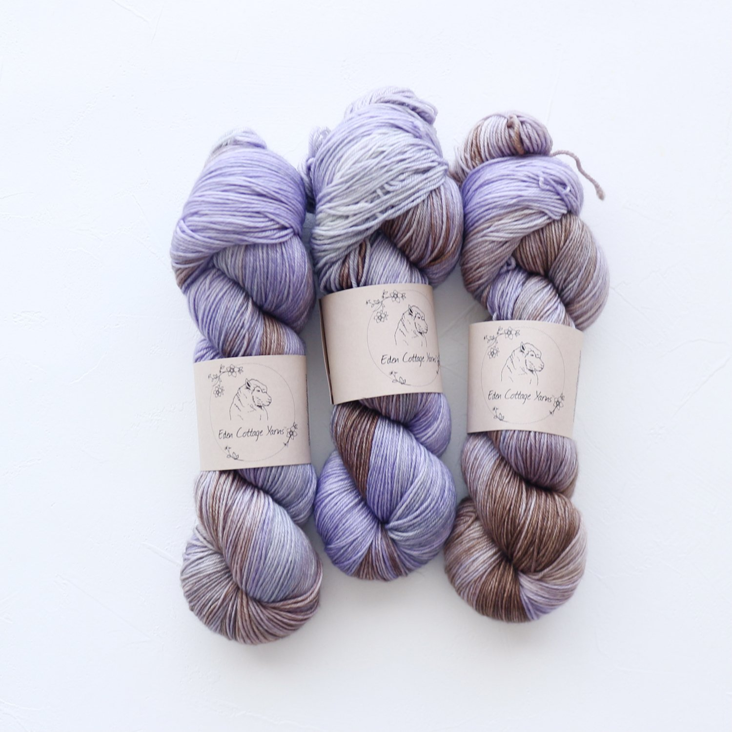 【Eden Cottage Yarns】<br>Pendle 4ply<br>Bluebell Woods
