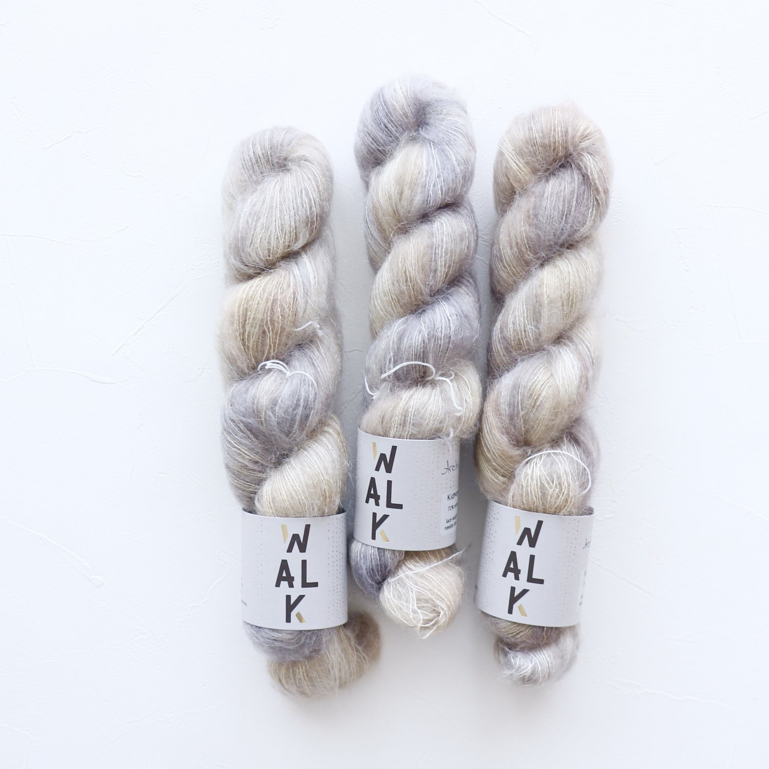 【WalkCollection】<br>KidMohair Lace<br>ARCTIC WOLF