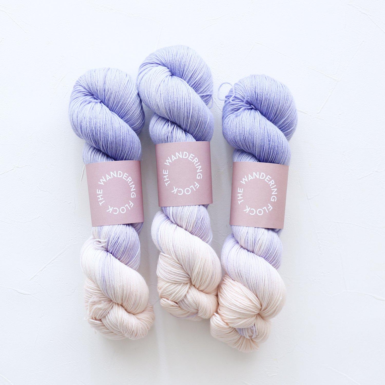 【TheWanderingFlock】<br>Merino Nylon Sock Yarn<br>SUNSETS IN BROOKLYN
