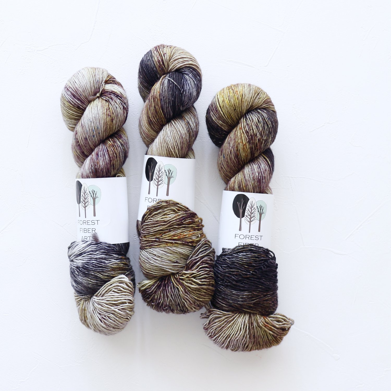【FOREST FIBER ARTS】<br>MERINO SINGLE PLY SOCK<br>Intrepid