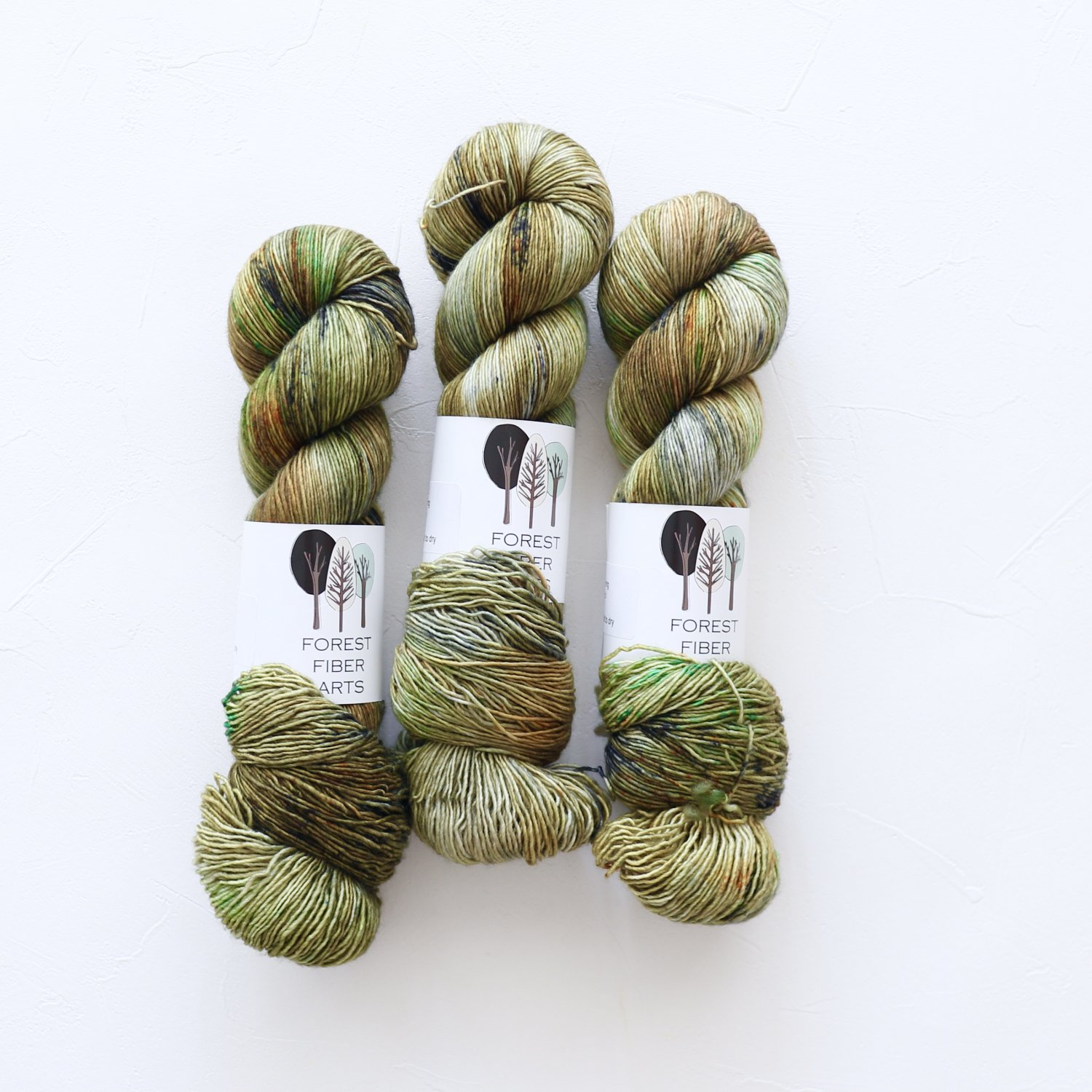 【FOREST FIBER ARTS】<br>MERINO SINGLE PLY SOCK<br>Nature Walk