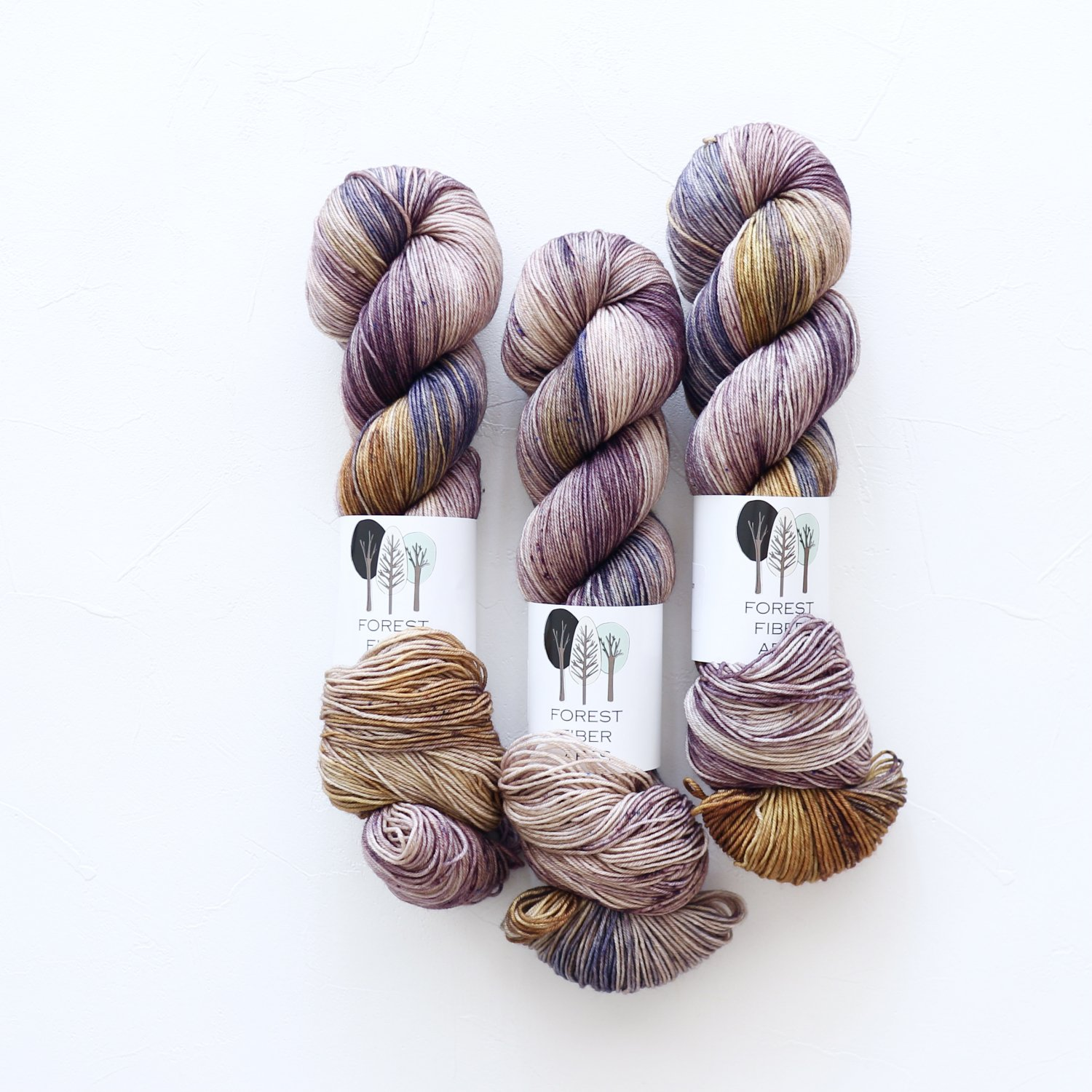 【FOREST FIBER ARTS】<br>MERINO/NYLON 4 PLY SOCK<br>Humidor
