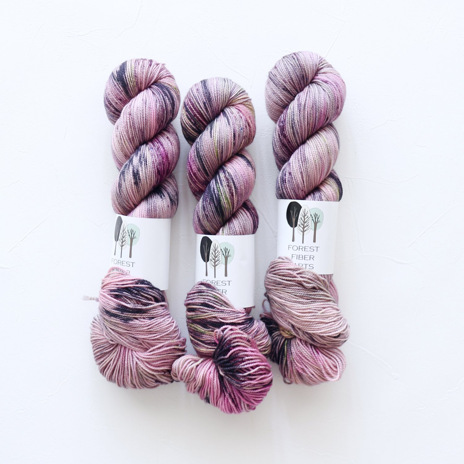 【FOREST FIBER ARTS】<br>MERINO/NYLON 2 PLY SOCK<br>Flash Mob