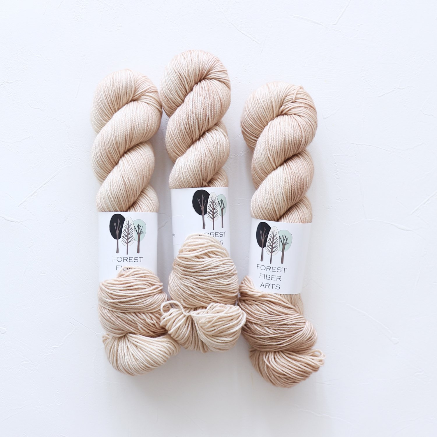 【FOREST FIBER ARTS】<br>MERINO SPORT<br>Blush