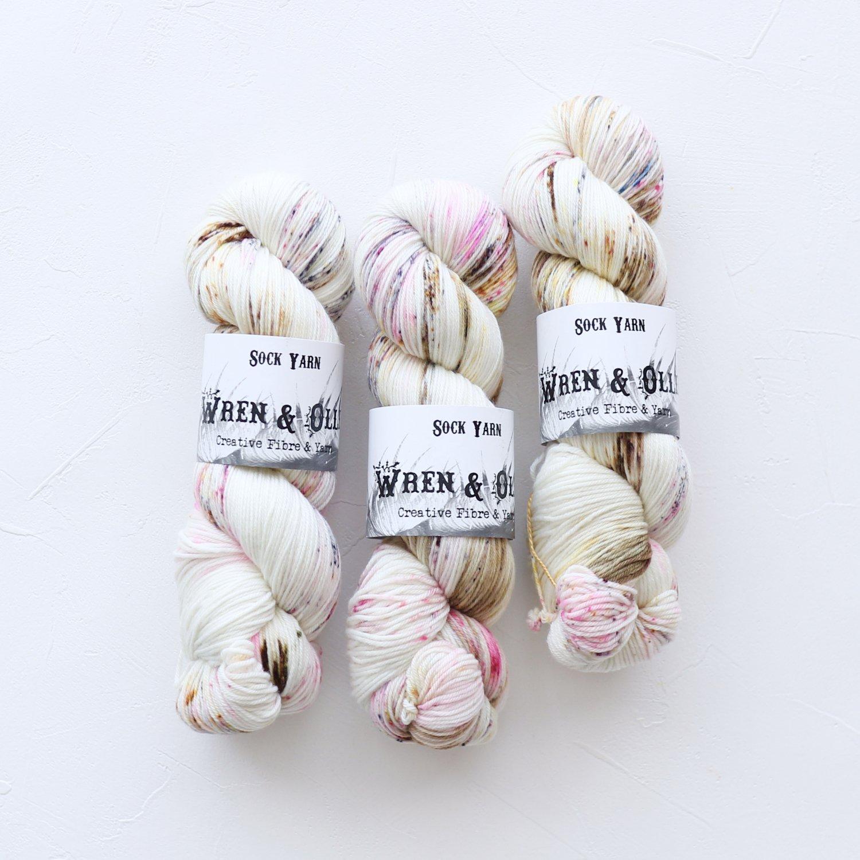 【Wren & Ollie】<br>Sock Yarn<br>Parfait
