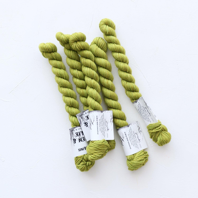 【Wren & Ollie】<br>Sock Yarn mini<br>Sprout