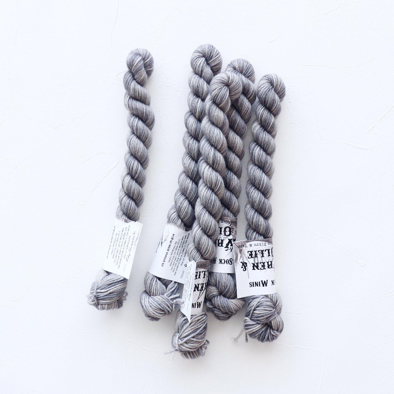 【Wren & Ollie】<br>Sock Yarn mini<br>Paperbark