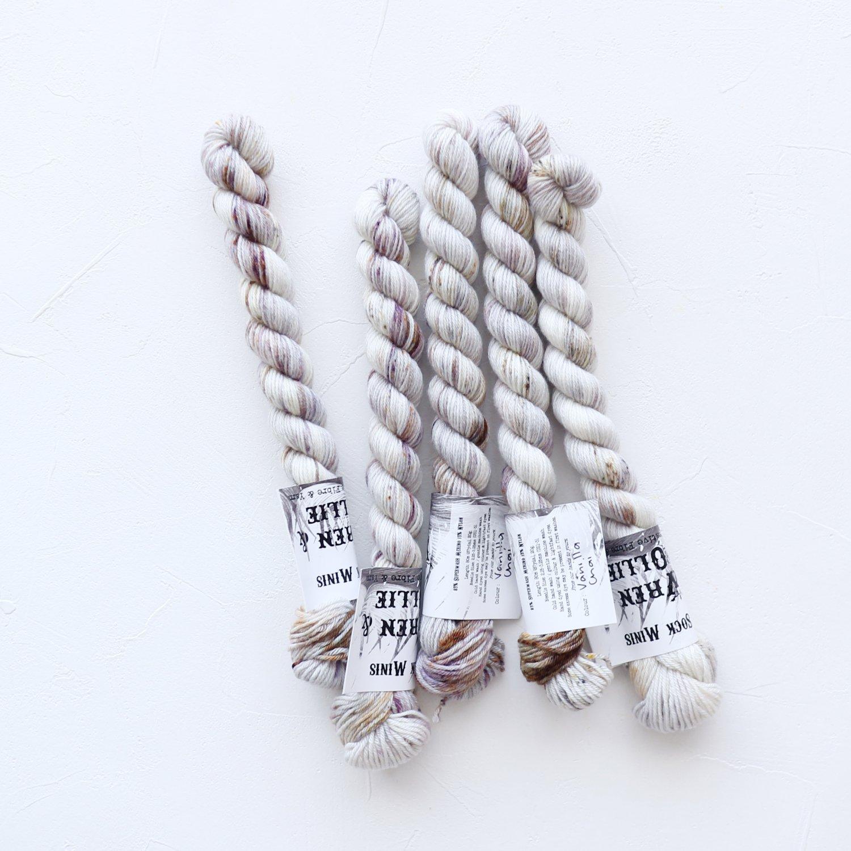 【Wren & Ollie】<br>Sock Yarn mini<br>Vanilla Chai