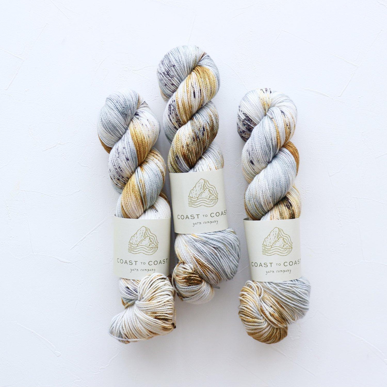 【Coast to Coast Yarn Co】<br>Twist Sock<br>Virgo Season