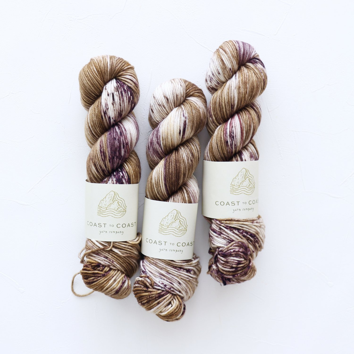 【Coast to Coast Yarn Co】<br>Classic DK<br>Morel