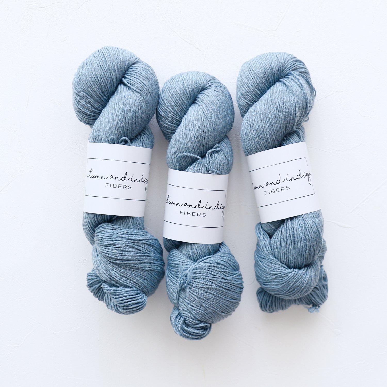 【Autumn and Indigo】<br>Classic Sock<br>Storm
