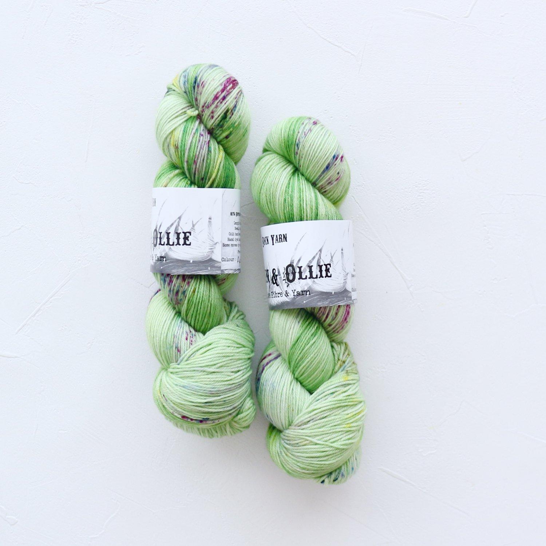 【Wren & Ollie】<br>Sock Yarn<br>Apple Tonic