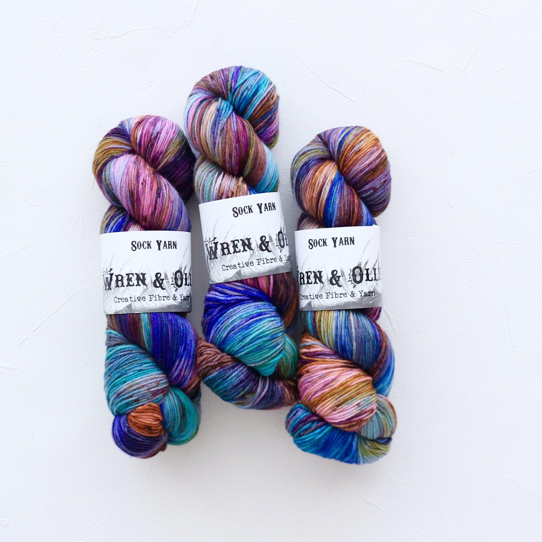 【Wren & Ollie】<br>Sock Yarn<br>Archimedes