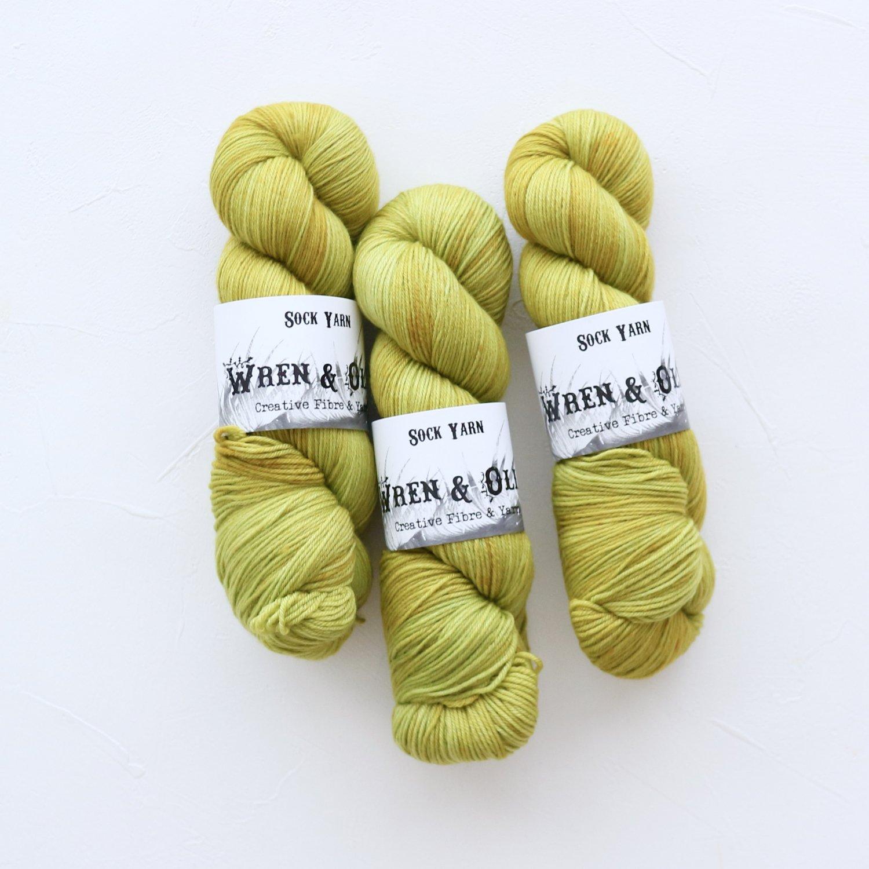 【Wren & Ollie】<br>Sock Yarn<br>Sprout