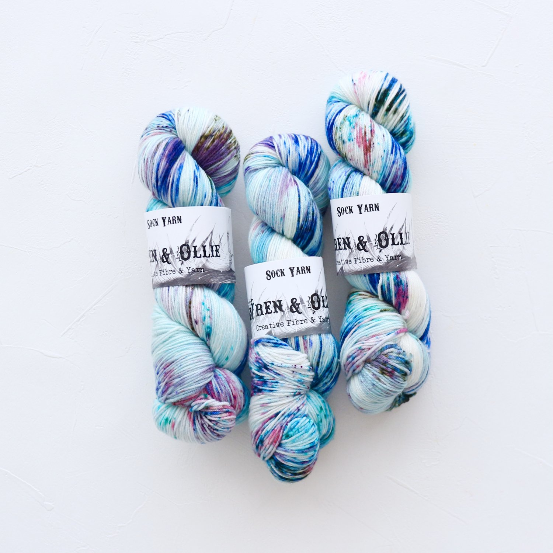 【Wren & Ollie】<br>Sock Yarn<br>Utopia