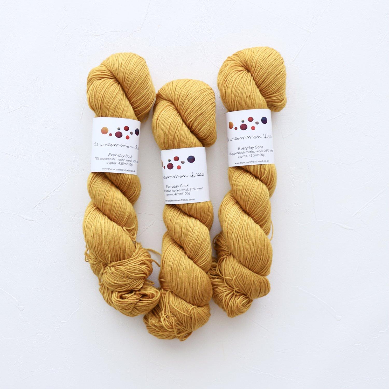 【The Uncommon Thread】<br>Everyday Sock<br>Cadmium