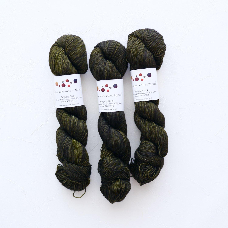 【The Uncommon Thread】<br>Everyday Sock<br>Hemlock