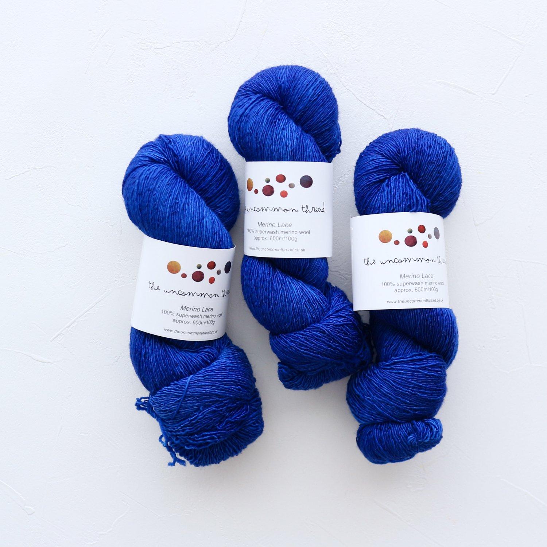 【The Uncommon Thread】<br>Merino Lace<br>Azurite