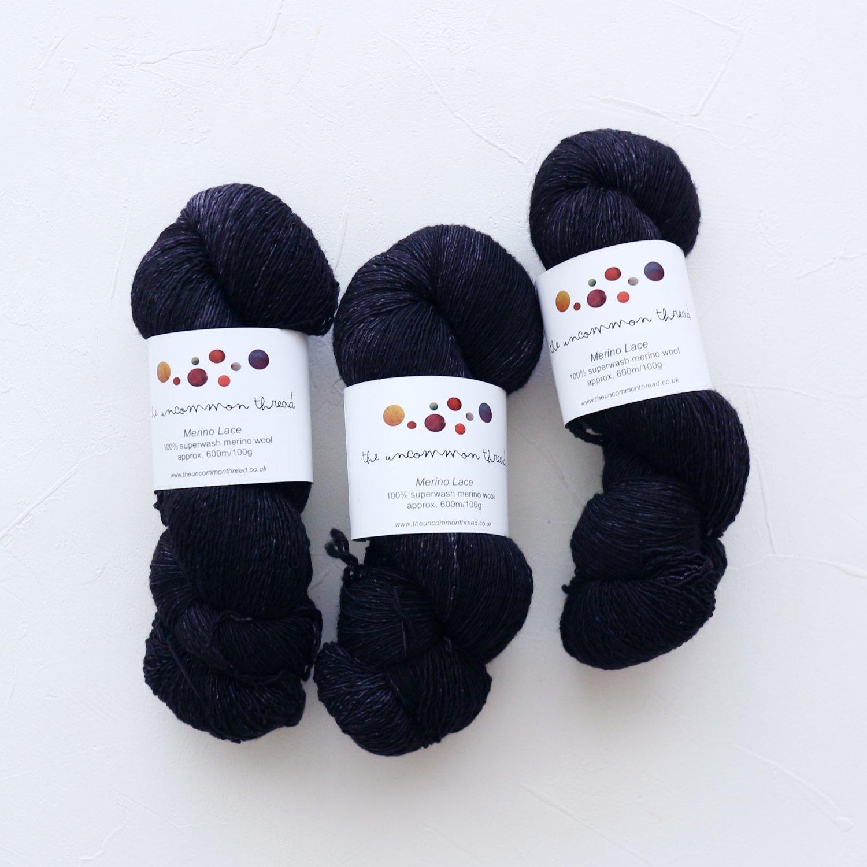【The Uncommon Thread】<br>Merino Lace<br>Coven