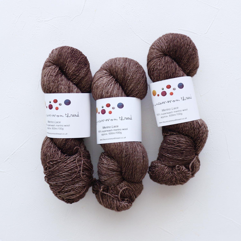 【The Uncommon Thread】<br>Merino Lace<br>Squirrel Nutkin