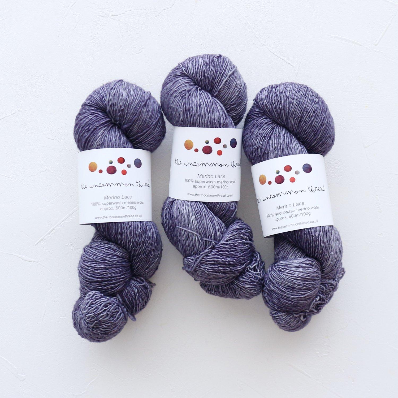 【The Uncommon Thread】<br>Merino Lace<br>Penumbra